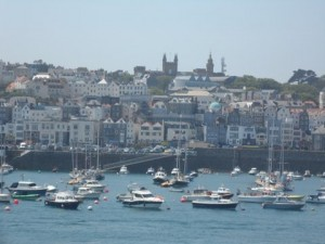 A brief stop in Guernsey on the way